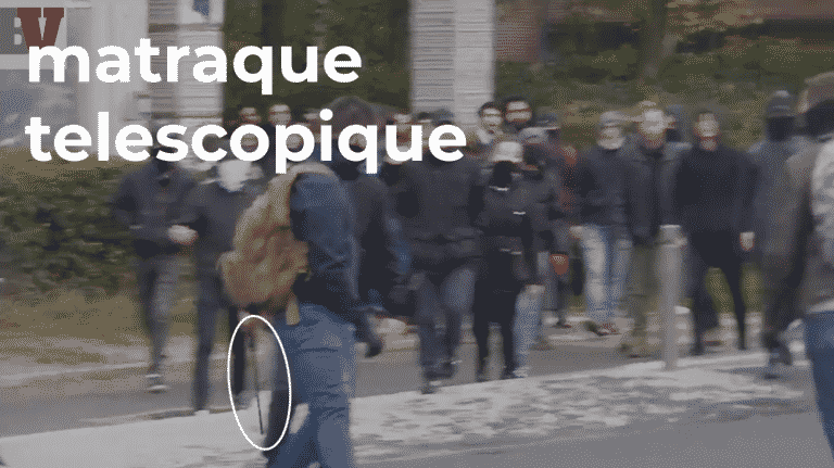Des membres de l'UNEF et du NPA attaquent les militants de la cocarde étudiante