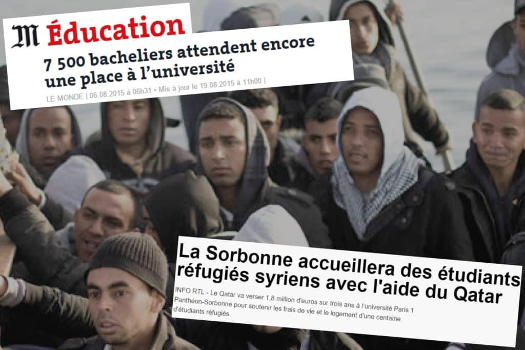 La cocarde étudiante s'oppose à l'accueil de migrants par l'université paris sorbonne