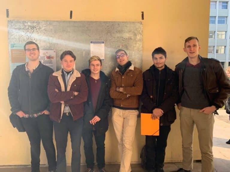 Les militants de la cocarde étudiante de nancy
